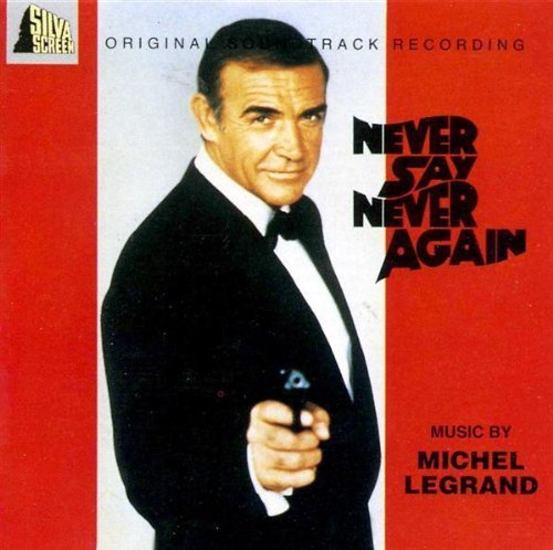 Original album cover of Never Say Never Again Soundtrack Edition (1993) Audio CD by James Bond - OST