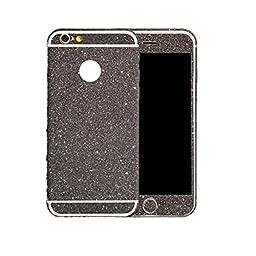 iPhone 6S Case,START Bling Glitter Plastic Back Film Sticker Case Cover For iPhone 6 4.7 (Black)