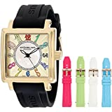 Stuhrling Original Women's 149L3.123631 Vogue Ozzie Dream Gold-Tone Watch with Interchangeable Straps
