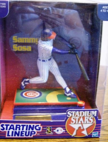1999 Starting Lineup Stadium Stars Sammy Sosa with Chicago Cubs