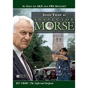 Inspector Morse Set Four - The Infernal Serpent (3 Disc Set) movie