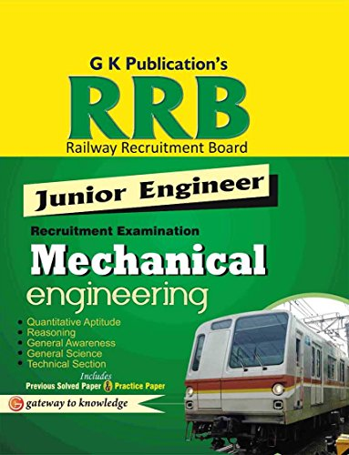 Guide to RRB Mechanical Enginnering (Junior Engg)2014