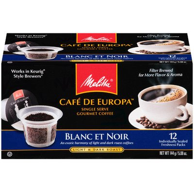 Blanc Et Noir Hard Pod Coffee (Set Of 12)