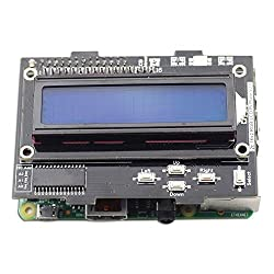 SunFounder I2C interface 16x2 LCD Pi Plate with KeyPad with RGB LED for Raspberry Pi