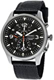 Seiko Men's SNDA57 Black Dial Analog Watch