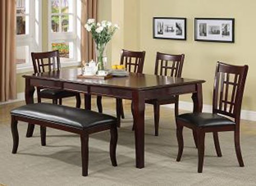 Milton Greens Stars 8838CH Granada Dining Table, 78 by 42 by 30-Inch, Cherry (Cherry Dining Room Table compare prices)