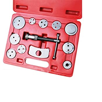 Rotates piston back into caliper for fitment of new brake shoes !!!11 pcs kit rotates piston back into caliper for fitting of new brake shoes. Can be use on most domestic and imports including Europe and Japan models such as Mercedes, BMW, VW, GM, Au...