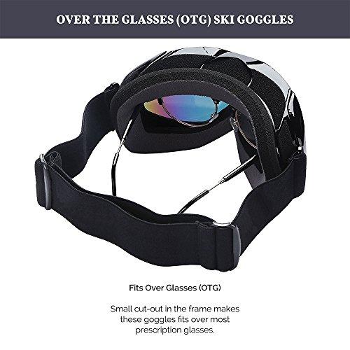 otg ski goggles  outdoormaster otg ski