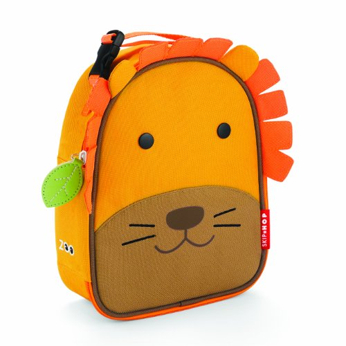 Skip Hop Zoo Lunchie Insulated Lunch Bag, Lion