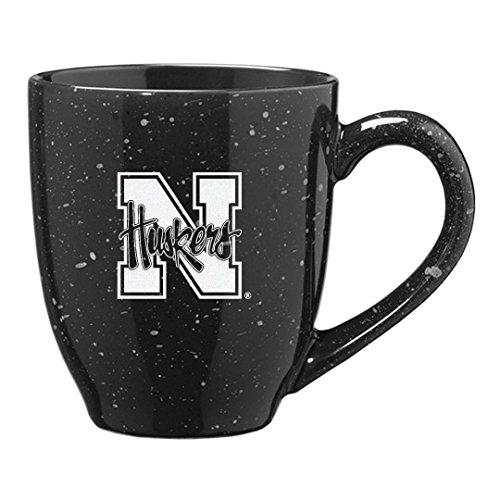 University Of Nebraska - 16-Ounce Ceramic Coffee Mug - Black