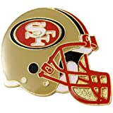 NFL San Francisco 49ers Helmet Pin at Amazon.com