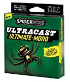 Spiderwire Ultracast Fishing Line, 10-Pound Test, 330-Yard Spool, Clear
