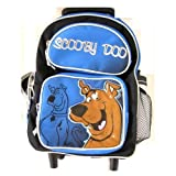 Wb Scooby Doo Kids Size Luggage Rolling Backpack