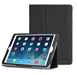 iPad Air 2 Case, WAWO Ultra Slim Lightweight Smart Folio Case for Apple ipad air2 9.7