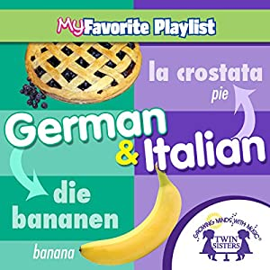 German and Italian Audiobook