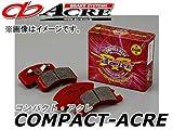 アクレ/ACRE ブレーキパッド フロント コンパクトアクレ 453 ダイハツ ハイゼット S200V(エンジンMD35)
