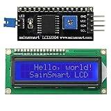 サインスマート(SainSmart) IIC/I2C/TWI 16*02 LCD液晶 モジュール For Arduino UNO MEGA R3 青発光