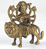 Fun N Shop Beautiful Brass Idol Of Maa Durga Ideal For Home,School,Office and Showrooms