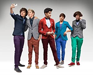"""One Direction PoP Music Group Wall Silk Fabric Poster Print 28x24"""" by greatrateshop"""