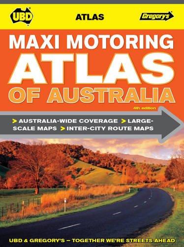 Maxi Motoring Atlas of Australia 4th
