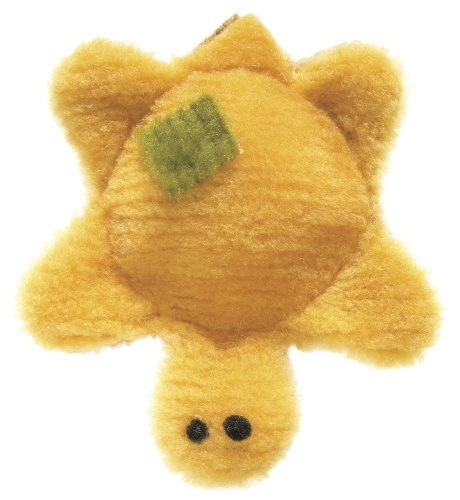 West Paw Design Tiny Turtle Squeak Toy for Dogs, Daisy