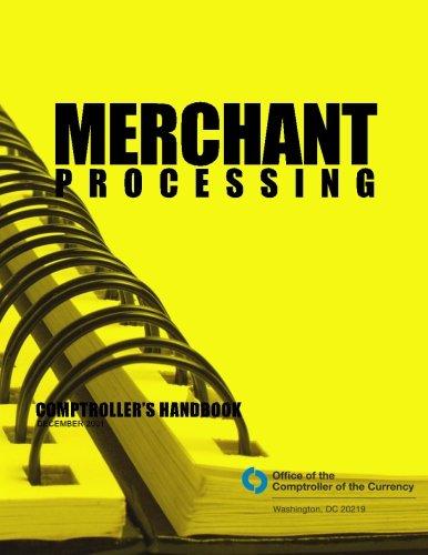 Merchant Processing Comptroller's Handbook December 2001 PDF