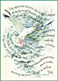 Marie Angel Seagull Inspirational Greeting Card