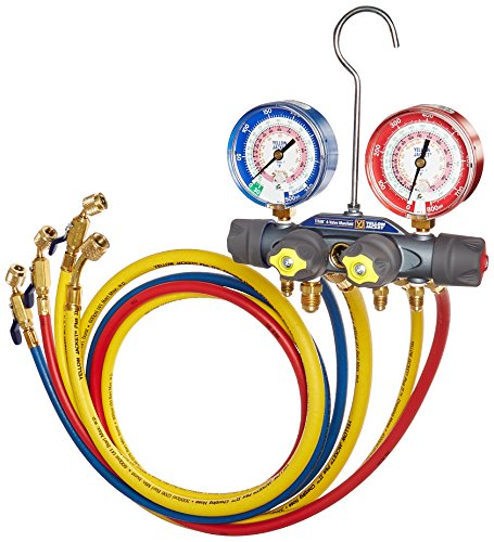 Yellow Jacket 49968 Charging Manifold, (3 8 Evacuation Hose compare prices)