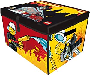 Neat-oh Lego City Fire Zipbin Large Toy Box Playmat from Neat-Oh