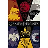 Game of Thrones House Sigils Television Poster