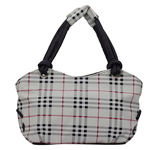 Alice Designer ladies handbag white(NKS-506-GUN)  available at amazon for Rs.399