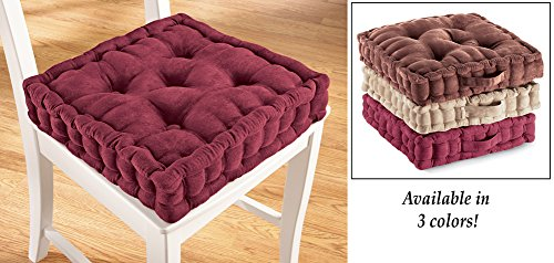 Tufted Support Padded Boosted Cushion Natural