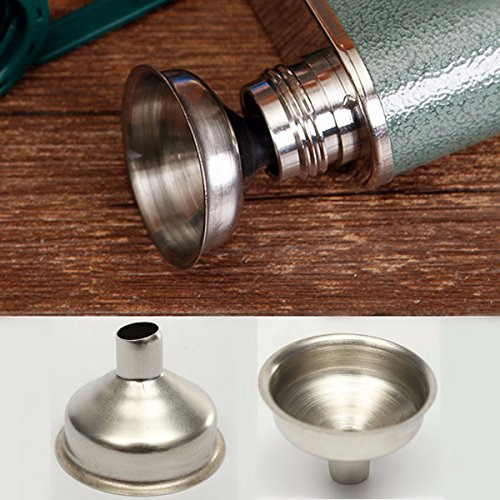 Stainless Steel Wine Funnel Removable Oil Coffee Filter Kitchen Tool (Angled Wine Cooler compare prices)