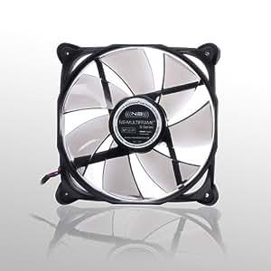 Noiseblocker NB-Multiframe M12-P 120mmx25mm Ultra Silent PWM Fan - 1000-2000 RPM - 12-29 dBA