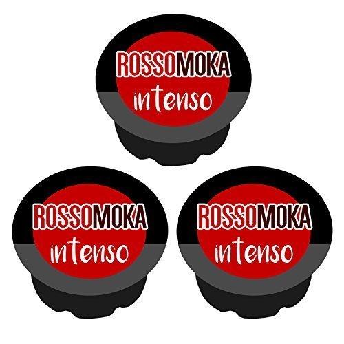210 cialde capsule caffè ROSSOMOKA INTENSO compatibili lavazza a modo mio