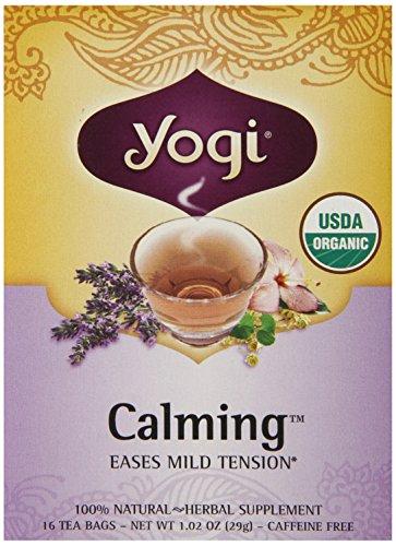 Yogi Calming Tea, 16 Tea Bags, 1.02Oz (Pack Of 6)