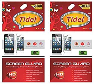 Tidel Ulta Clear Screen Guard for Motorola Moto G 2nd Genaration (Pack Of Two)