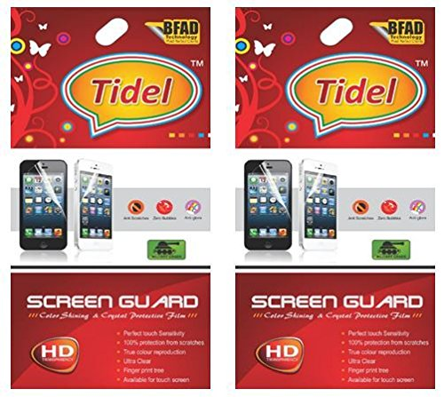 Tidel Ulta Clear HD Screen Guard Protector for Micromax Canvas Mad A94 (pack of two)  available at amazon for Rs.119