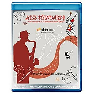Jazz Standards: Music Experience in 3-Dimensional Sound Reality [5.1 DTS-HD Master Audio Disc] [Audio Only Conceptual Presentation] [Blu-ray]