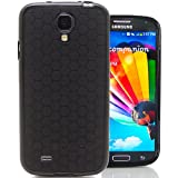 Hyperion Samsung Galaxy S4 HoneyComb Matte Flexible TPU Case & Screen Protector (Compatible with ALL Samsung Galaxy S4 Models. Compatible Models include Sprint Samsung Galaxy S IV, AT&T Samsung Galaxy S 4, T-Mobile Samsung Galaxy S 4, US Cellular Samsung Galaxy S IV, Verizon Samsung Galaxy S4, and All International Samsung Galaxy S 4 Models) **Hyperion Retail Packaging** (Black)