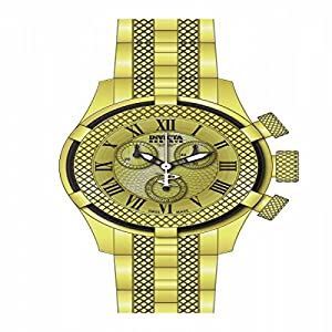Invicta Women's 17157 Bolt Quartz Chronograph Gold Dial Watch
