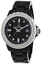 Toy Watch Plasteramic Black Crystal Ladies Watch PCLS21BK