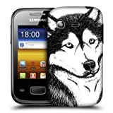 Head Case Dog Sketch Hand Drawn Animal Back Case For Samsung Galaxy Pocket S5300