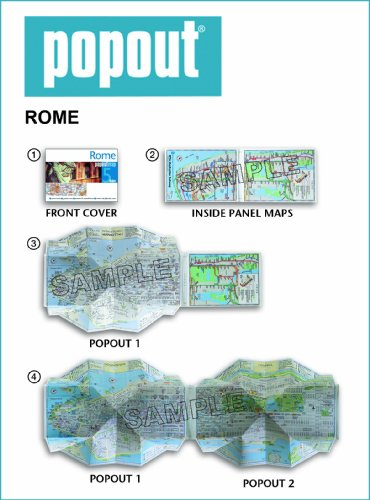 Rome PopOut Map (PopOut Maps) iclebo pop