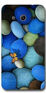 SEI HEI KI Designer Back Cover For Samsung Core 2 G355 - Multicolor