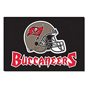 FANMATS NFL Tampa Bay Buccaneers Nylon Face Starter Rug by Fanmats
