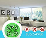 Insect Killer & Electric Bug Light Zapper ~ 100% Money Back Guarantee ~ Best Indoor Mosquito Repellent & Natural Fly Control - Electronic UV Lamp to Trap & Kill - Safe for Children, Babies & Pets