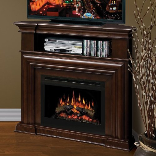 Dimplex Montgomery 47-inch Corner Electric Fireplace Media Console - Espresso - Gds25-1057e image B009IIV1TO.jpg