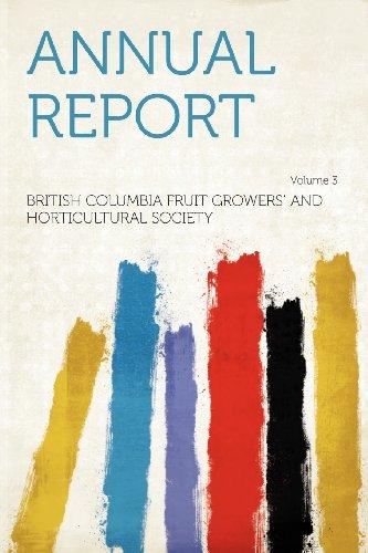 Annual Report Volume 3