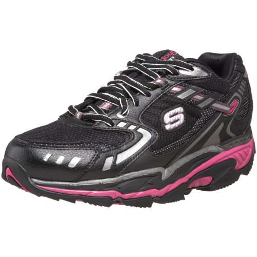 Skechers Women's Diamondback Wellbeing Shoe Black UK 4
